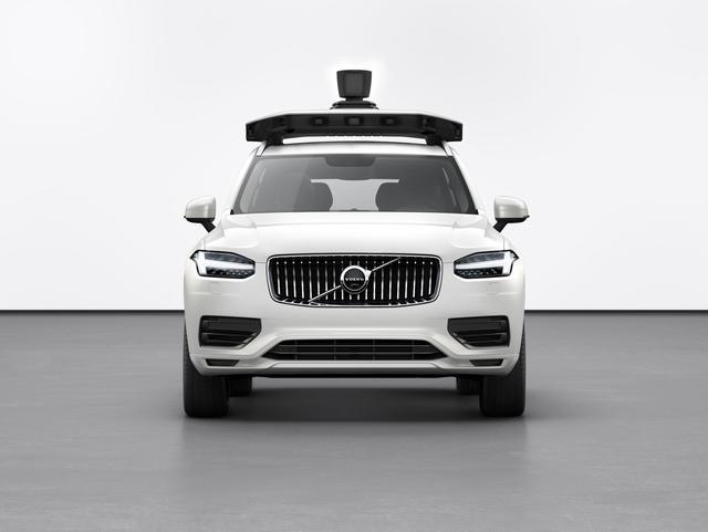 Uber发布新一代自动驾驶汽车 基于沃尔沃 XC90打造