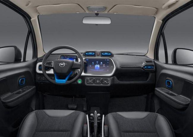 海马发布爱尚EV 360车型官图  综合续航里程超300公里-阿里汽车