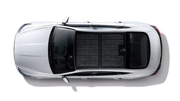 2020款索纳塔混动版韩国上市 每天晒太阳就能多跑1300km?