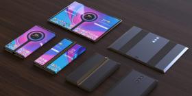 小米三段式折叠屏手机渲染图曝光,搭载后置三摄
