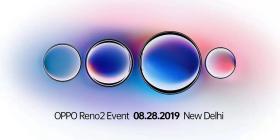 OPPO Reno2海外官宣:变焦四摄,8月28日新德里发布