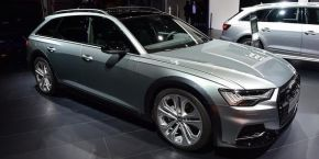 全新奥迪A6 allroad quattro比沃尔沃V90 Cross Country贵20万值得么