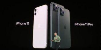 重头戏上映iPhone 11亮相 1200万像素后置双摄搭配A13仿生芯片 699美元售卖
