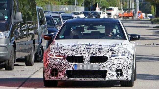 宝马M5中期改款车型或将于年内正式发布