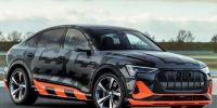 奥迪发布e-tron S Sportback原型车官图  零百加速跑进4俱乐部
