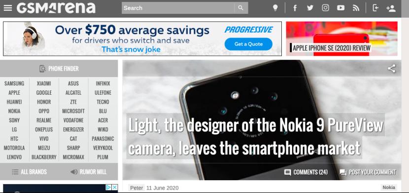 【200612】相机公司Light不在涉足手机行业,曾开发诺基亚9 PureView相机147.png