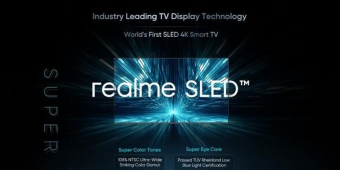 全球首款SLED电视来了,这次Realme会给电视产业什么惊喜?