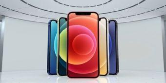 iPhone 12真机亮相 :6.1英寸OLED屏幕 五种配色