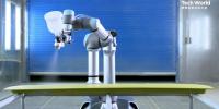 """AR加持,5G网络远程控制 联想首款自研工业机器人晨星拥有""""手、脚和大脑"""""""