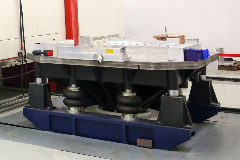 16吨三综合振动台可进行电池包振动试验2