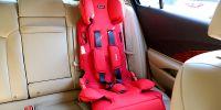 安全不占空间 499元性价比斐然 360儿童安全座椅旅行家灵巧版体验