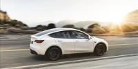 特斯拉Model Y上榜工信部新能源汽车推广目录 外观参数曝光