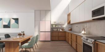 三星全新Bespoke系列冰箱亮相CES,开启家电定制化全新时代