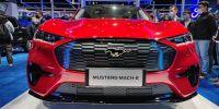 国产福特Mustang Mach-E亮相2021上海车展!实车抢先看