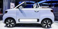 2022年正式投入量产!五菱新能源首款敞篷车宏光MINIEV CABRIO燃炸上海车展