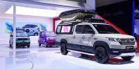 2021上海车展 五菱展台敞篷EV、新征途、五菱星辰等新车亮相