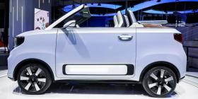 2021上海车展|五菱展台敞篷EV、新征途、五菱星辰等新车亮相