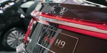 车展微体验,不想买BBA,红旗H9或许能满足你