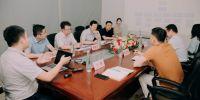 榆林市政府驻西安联络中心主任乔杰一行莅临汇通科技参观交流