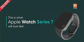 苹果Apple Watch Series 7渲染图曝光:直角边框设计+数字表冠