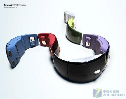 时尚女性最佳配彩色微软Arc鼠标评测(2)
