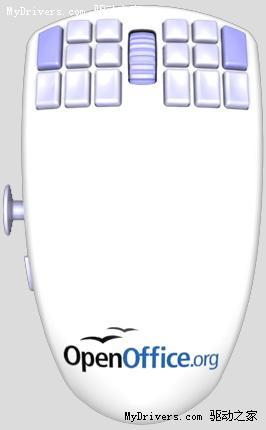 18个可编程按钮 WarMouse超强鼠标发布