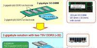 尔必达试产新工艺的DDR3内存颗粒