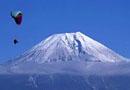 云雾缭绕富士山